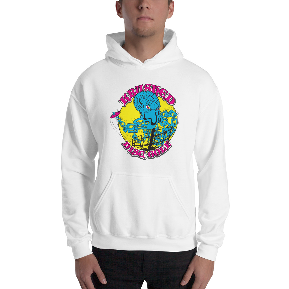f777b2d7 Hooded Sweatshirt – Krushed OctoBasket | Krushed Disc Golf